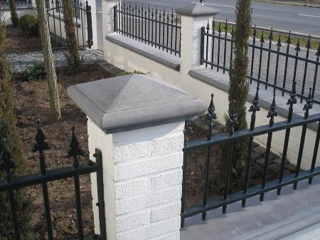 mauerabdeckung aus beton schubert fensterb nke. Black Bedroom Furniture Sets. Home Design Ideas